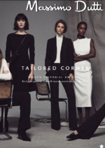 Catalogues et collections Massimo Dutti : Lookbook Tailored Corner