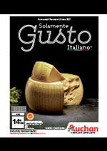 Prospectus Auchan : Solamente Gusto Italiano