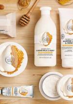 Catálogos e Coleções The Body Shop : Nova linha Almond & Milk
