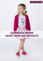 Catalogues et collections Sergent Major : Lookbook enfant Akiko, mon ami de Tokyo