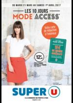 Prospectus Super U : Les 10 jours mode access
