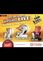 Prospectus Supermarchés Casino : Les 30 jours Casino Live Épisode 3