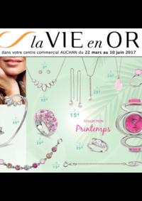 Prospectus Auchan Plaisir : La vie en or collection printemps