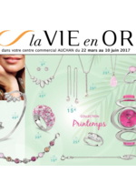 Prospectus Auchan : La vie en or collection printemps