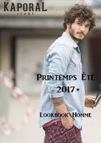 Catalogues et collections Kaporal AUBERVILLIERS : Lookbook homme été 2017