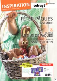 Prospectus Colruyt AUDERGHEM : Inspiration Pâques