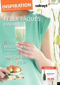 Prospectus Colruyt ANDERLECHT - VEEWEYDE : Fêter Pâques Ensemble !
