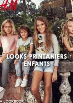 Catalogues et collections H&M : Les looks printaniers enfants