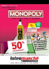 Prospectus Intermarché Express PARIS Letort : Grand jeu Monopoly vous avez tout à gagner Semaine 4