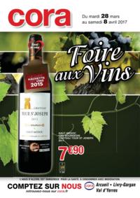 Prospectus Cora BOUSSY-SAINT-ANTOINE : Foire aux vins