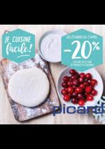 Prospectus Picard : -20% sur une sélection de produits à cuisiner