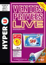 Prospectus Hyper U : Ventes privées live 3ème semaine