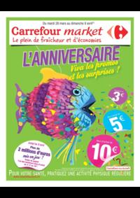 Prospectus Market BOURG LA REINE : L'anniversaire Viva les promos et les surprises !