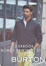 Promos et remises  : Lookbook homme printemps 2017
