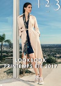 Catalogues et collections 1.2.3 PARIS 42 rue de la Chaussée D'Antin : Lookbook printemps été 2017