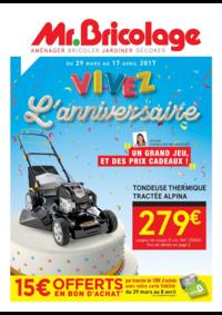Prospectus Mr Bricolage Achères : Vivez l'anniversaire