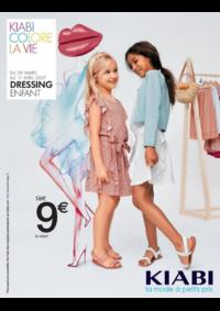 Prospectus Kiabi PANTIN : Dressing enfant