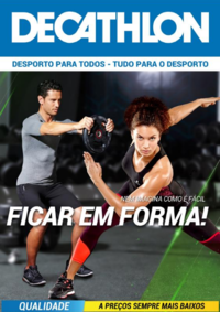 Folhetos DECATHLON Almada : Nem imagina como é fácil ficar em forma!