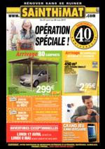 Prospectus Sainthimat : Opération spéciale !