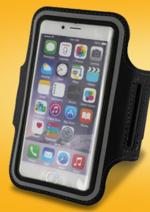 Promos et remises  : Brassard sport smartphone jusqu'à 5.1'' à 5,93€