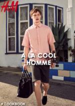 Promos et remises  : Lookbook homme A la cool