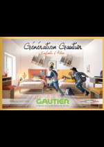 Catalogues et collections Gautier : Génération Gautier : Enfants & Ados 2017-2018
