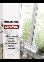 Catalogues et collections Lapeyre : Catalogue Menuiseries 2017