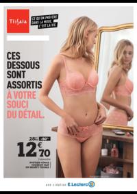 Prospectus E.Leclerc RUEIL MALMAISON : Rendez-vous lingerie