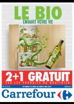 Prospectus Carrefour : Le bio envahit votre vie
