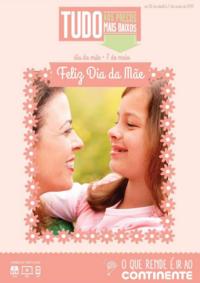 Folhetos Continente Modelo Carregado - Alenquer : Feliz Dia da Mãe