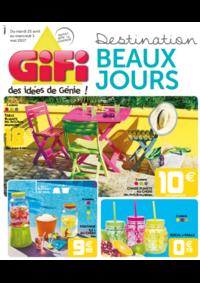 Prospectus Gifi GOUSSAINVILLE : Destination Beaux Jours