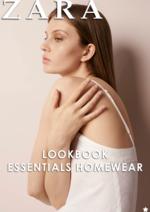 Catálogos e Coleções ZARA HOME : Lookbook Essentials Homewear