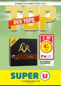 Prospectus Super U LE THILLAY : Top des tops