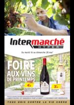 Prospectus Intermarché Hyper : Foire aux vins de Printemps
