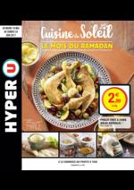 Prospectus Hyper U : Cuisine du Soleil le mois du ramadan