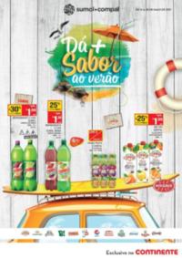 Folhetos Continente Modelo Santa Maria da Feira : Dá mais sabor ao verão