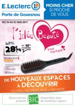 Prospectus E.Leclerc : L'idée beauté