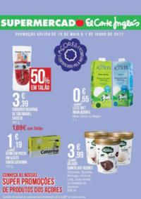 Folhetos Supermercado El Corte Inglés Porto : Super promoções de produtos dos açores