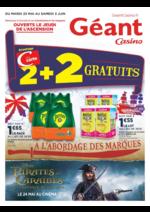 Prospectus Géant Casino : 2 + 2 gratuits