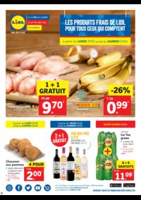 Prospectus Lidl ANDERLECHT Rue Pierre Marchant : Les produits frais de Lidl pour tous ceux qui comptent