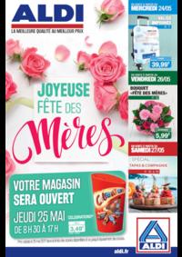 Prospectus Aldi Amiens : Joyeuse fête des mères