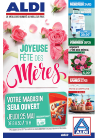 Prospectus Aldi Argenteuil : Joyeuse fête des mères