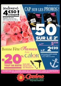 Prospectus Supermarchés Casino PARIS 77 Rue de Flandre : Cap sur les promos : -50% sur le 2ème