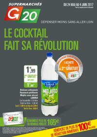Prospectus G20 PARIS 8 Marché Europe : Le cocktail fait sa révolution