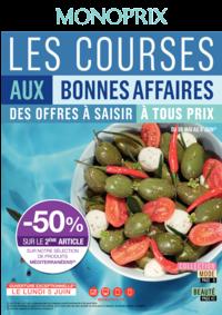 Prospectus Monoprix PARIS 71 rue Saint Antoine : Les courses aux bonnes affaires