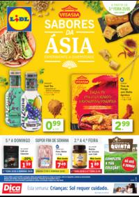 Folhetos Lidl Alcochete : Sabores da Ásia