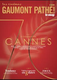 Journaux et magazines Gaumont Pathé! Paris 58 avenue des Gobelins : Feuilletez le magazine du mois de Mai 2017