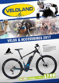 Catalogues et collections VELOLAND MONTGERON : Vélos et accessoires 2017