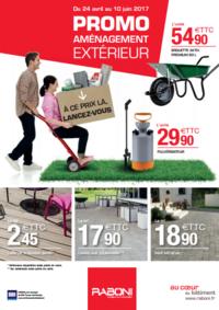 Prospectus RABONI Puiseux-Pontoise : Promo aménagement extérieur