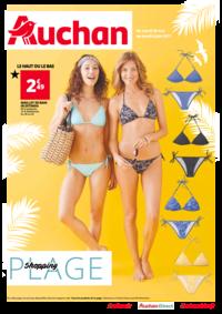 Prospectus Auchan MAUREPAS : Shopping plage